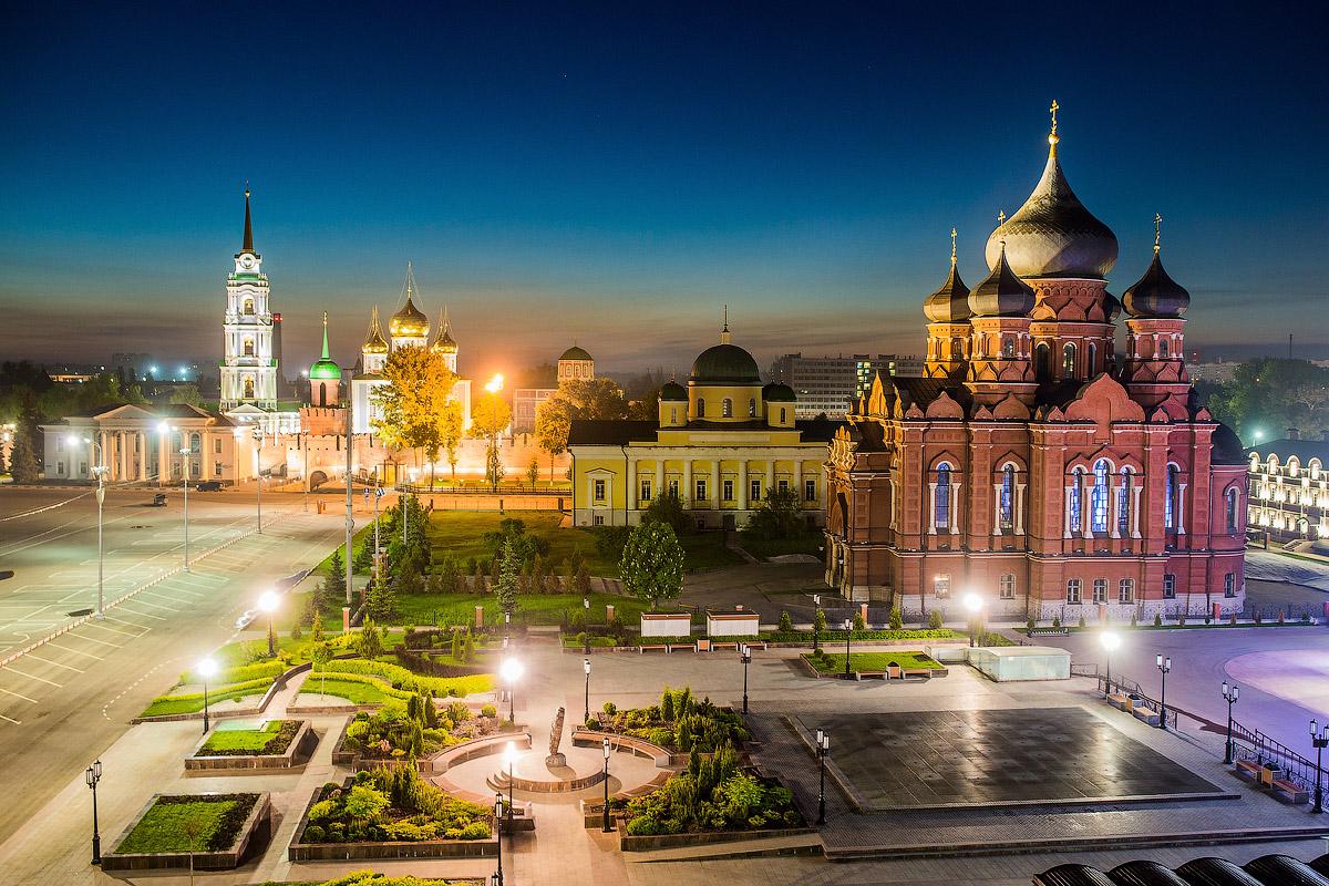Москва-Тула-город герой 3 дня