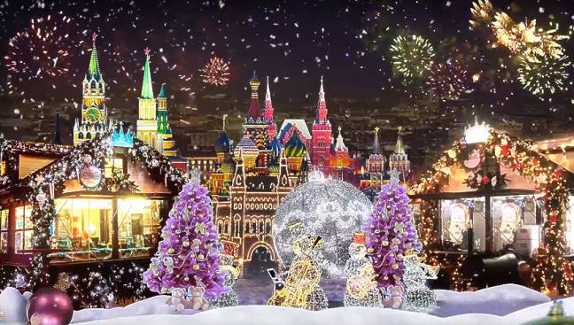 Новогодняя Москва 4 дня
