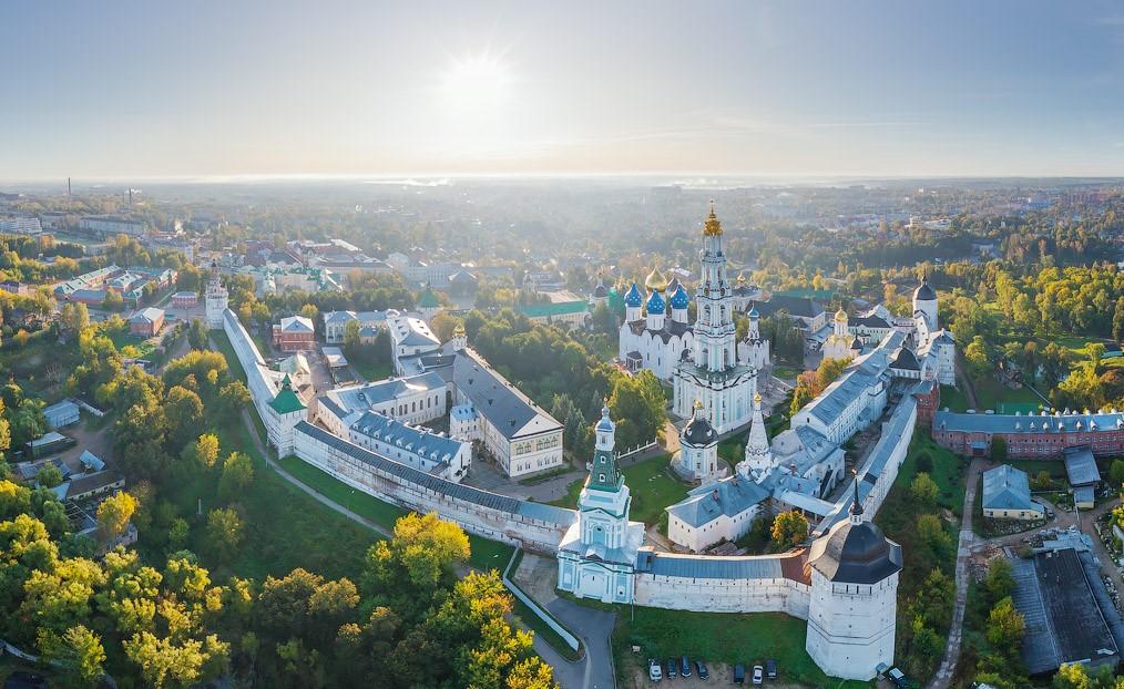 Москва Сергиев Посад